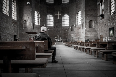 empty church